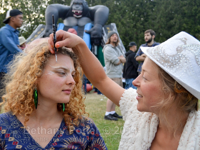 Fourth of July at gasworks Park — Facepainters