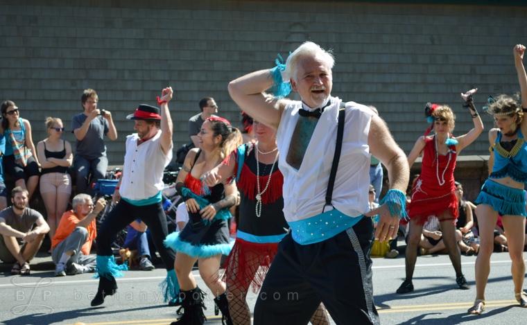 Fremont Solstice Parade 2014 Dancers