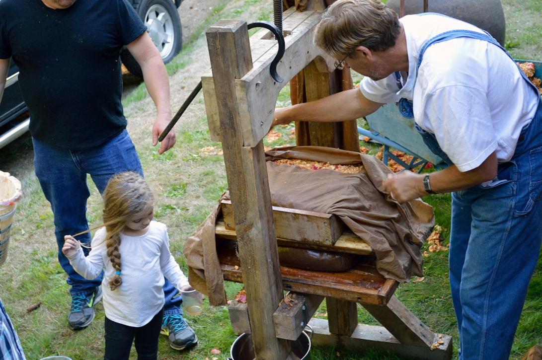 Apple Pressing 2015 Curious Girl
