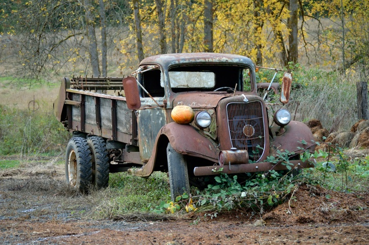 Parkerosa Farms Pumpkin Truck