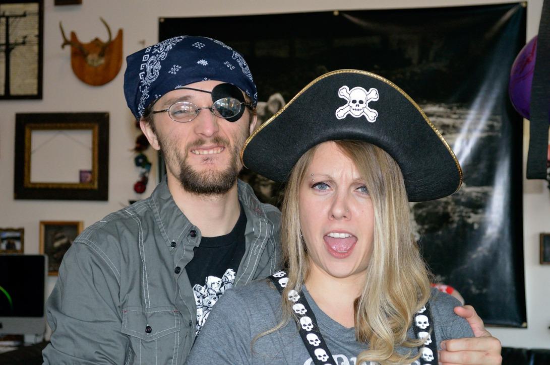 Pirate Birthday Swashbuckling Image