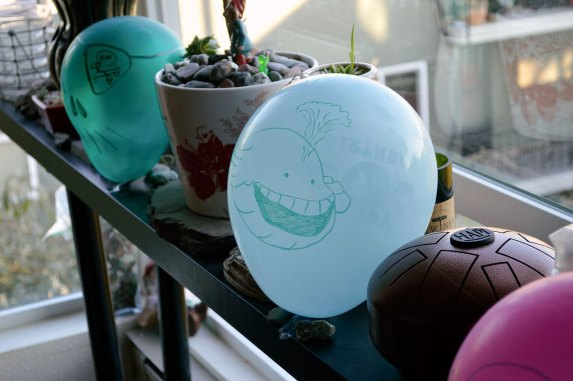 Pirate Party Balloon Image