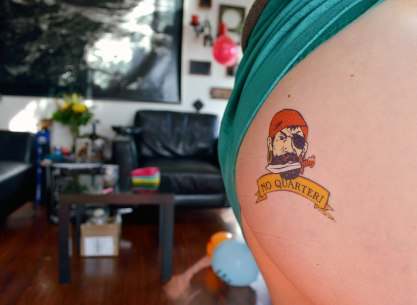 Pirate Party Tattoo Parlor Cheeky Image