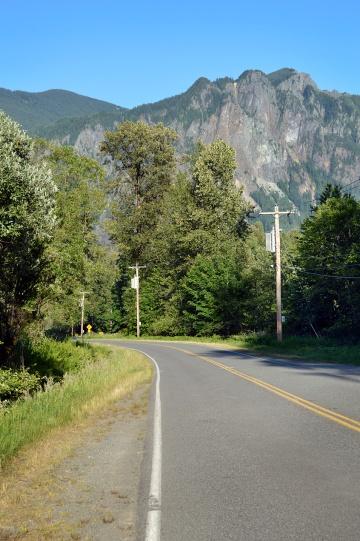 Twin Peaks Mountain Range