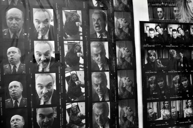 Twin Peaks Black and White Portraits