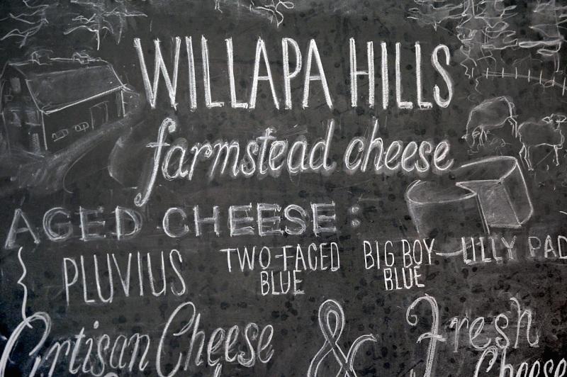 Willapa Hills Farm Chalkboard