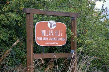 Willapa Hills Farm Sign