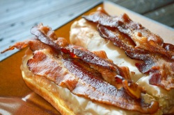 Bacon maple Donut Bar