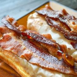 Bacon maple Donut Bar